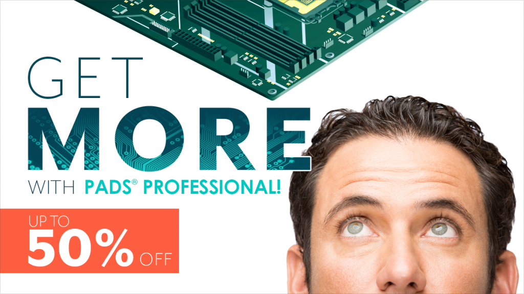PADS Professional - PCB Design for un unbeatable price